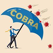 """COBRA"" Umbrella protecting staff from COVID-19"