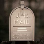 U.S. mail box