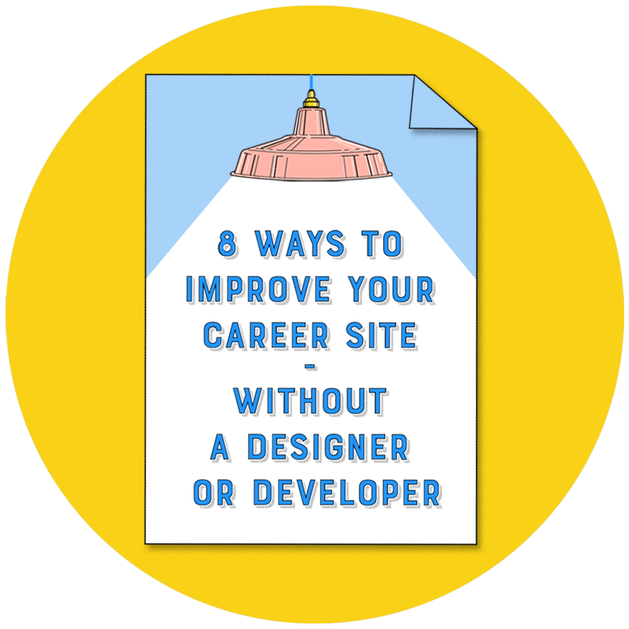 Ideal Role's 8 ways to improve your career site - without a designer or developer PDF