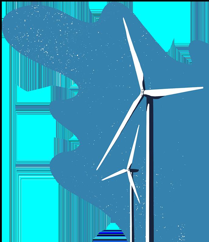 Wind turbines - DrumRole