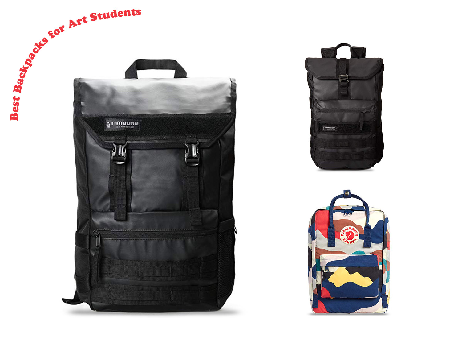 The Best Backpacks for Art Students