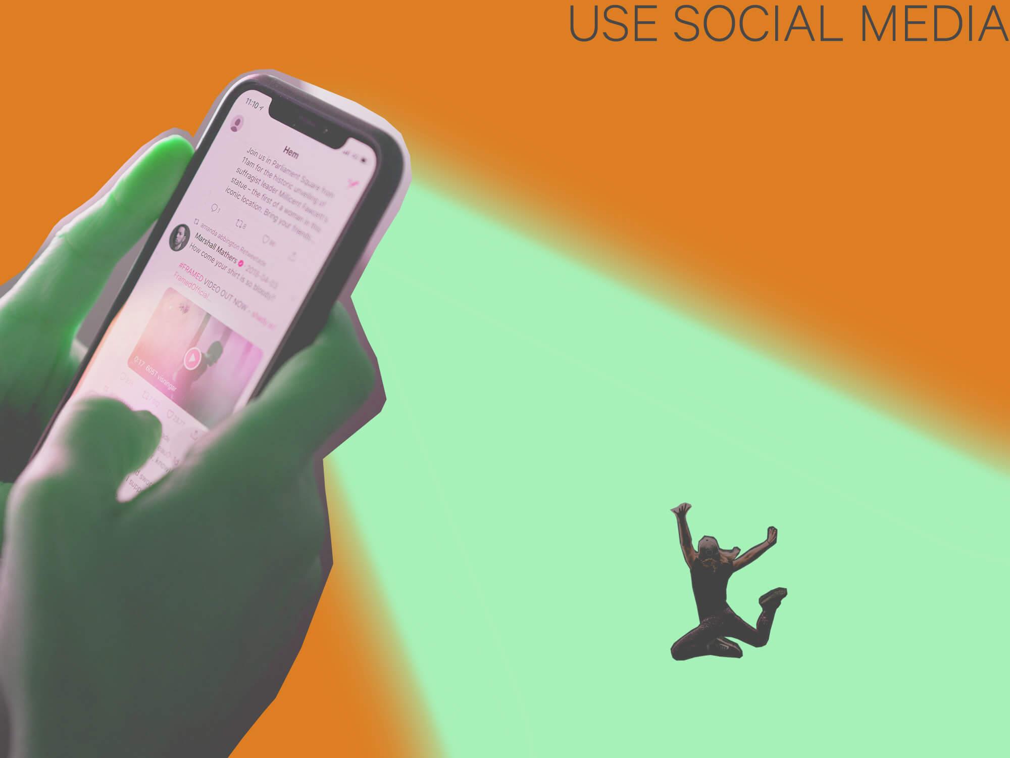 Get More Freelance Clients Using Social Media - Use Social Media