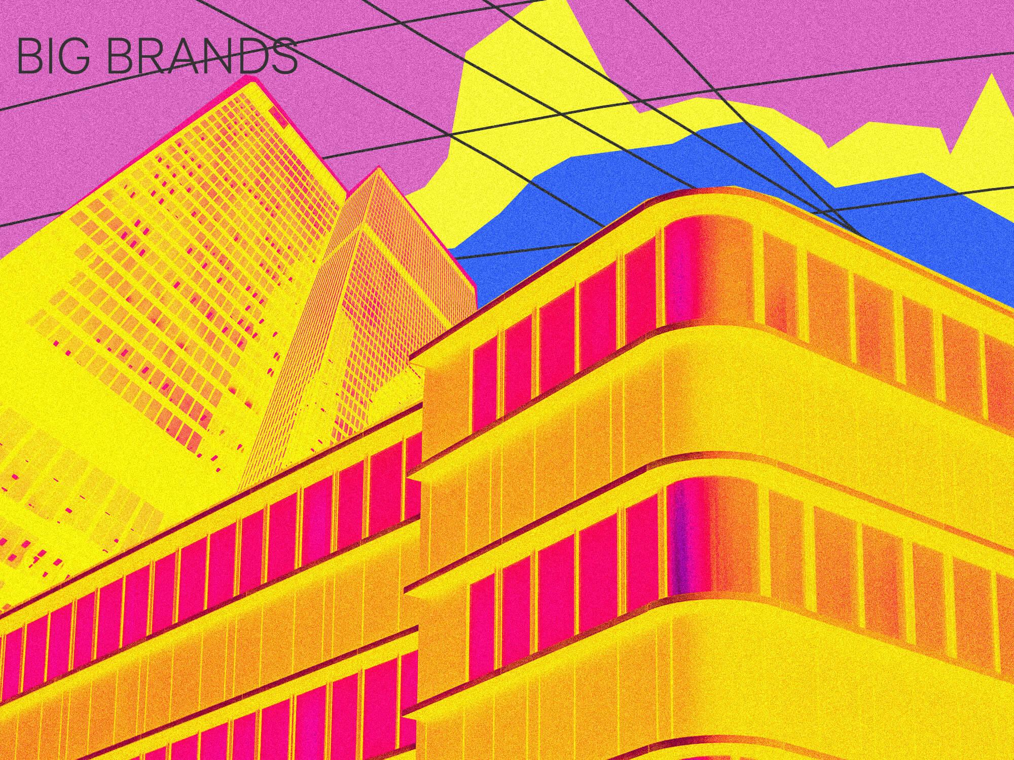Get More Freelance Clients Using Social Media - Big Brands