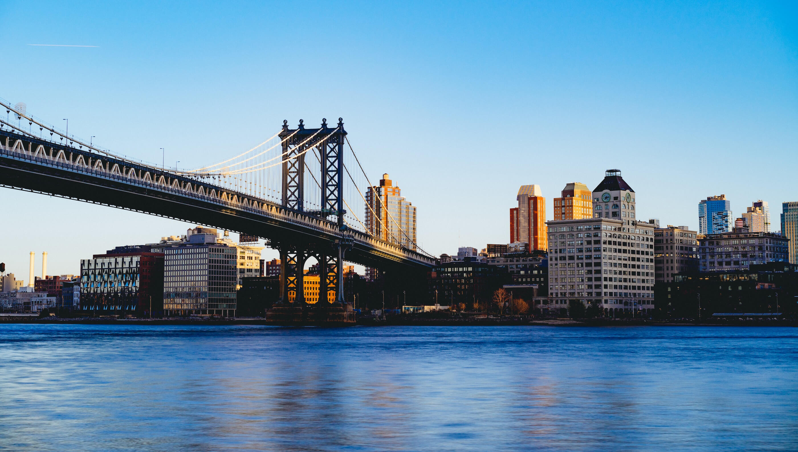 City Bridge Above the river