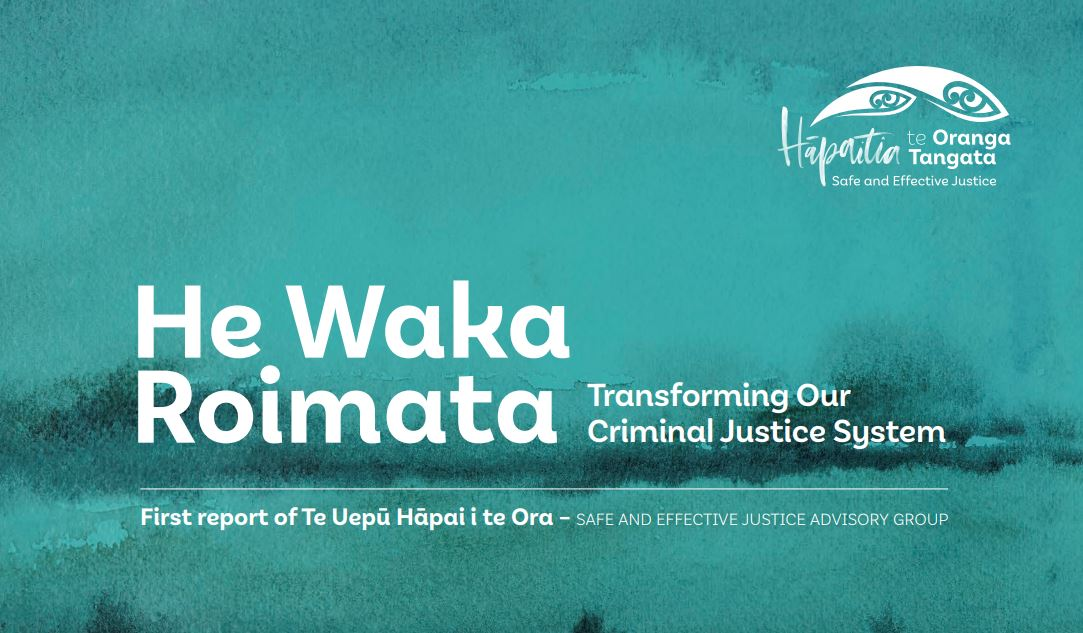 JustSpeak responds to He Waka Roimata report