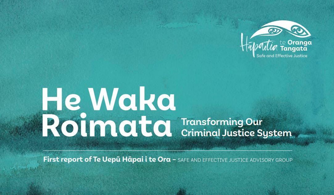 JustSpeak responds to He Waka Roimata report