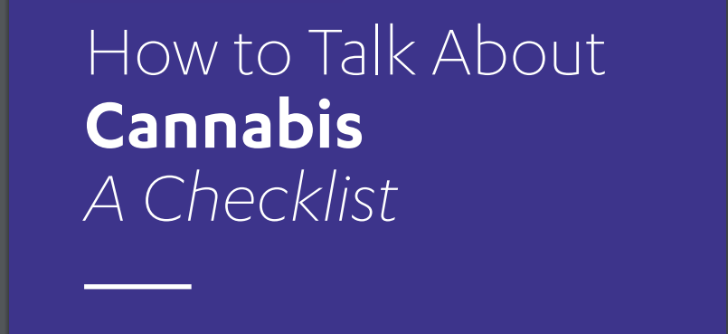 How to Talk About Cannabis - A Conversation Guide