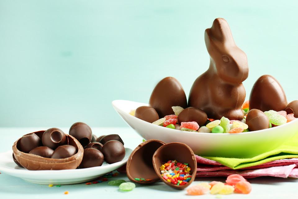 Schokolade an Ostern