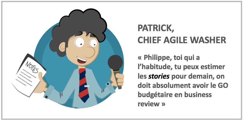 Intro Réussir ses estimations Agile washing: attention, toxique!