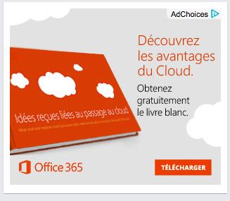 Publicité pour Office 365