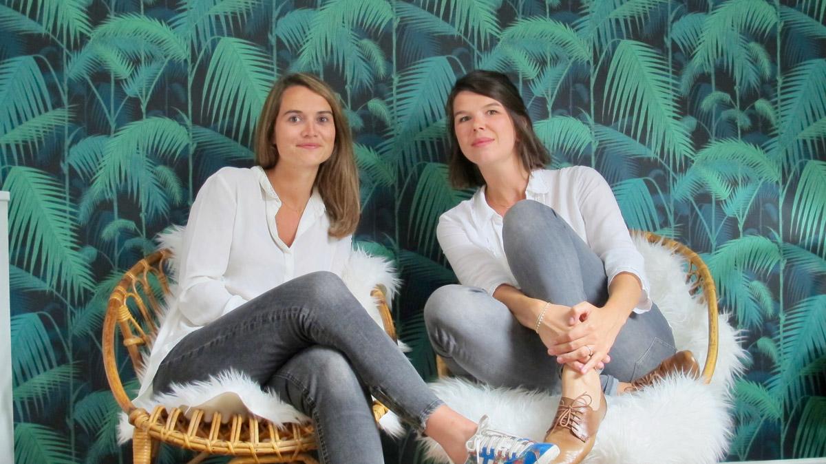 Les Dénicheuses immobilier Nantes Elise et Anne-Camille