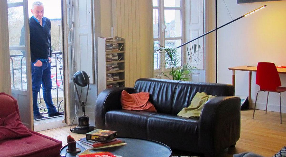 Appartement de PJ, Adèle et Hippolyte à Nantes sélectionné par les dénicheuses