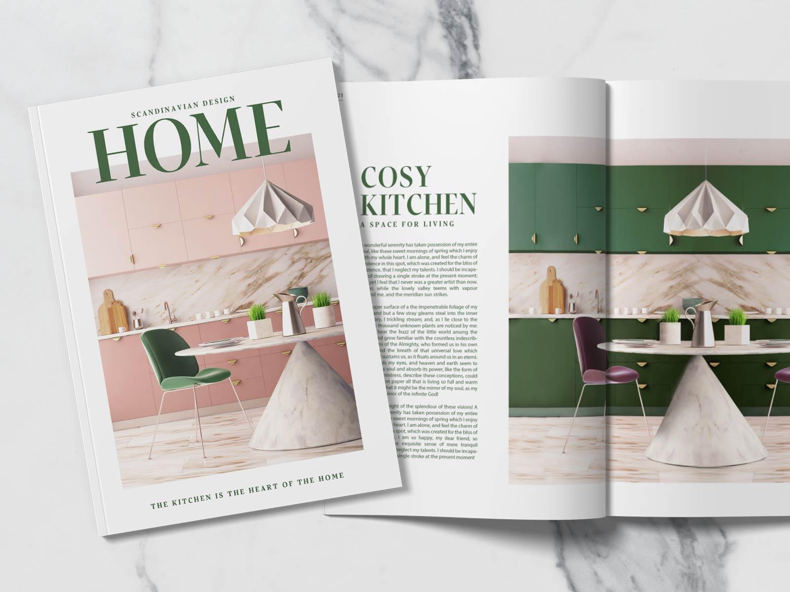 HOME Magazine Design