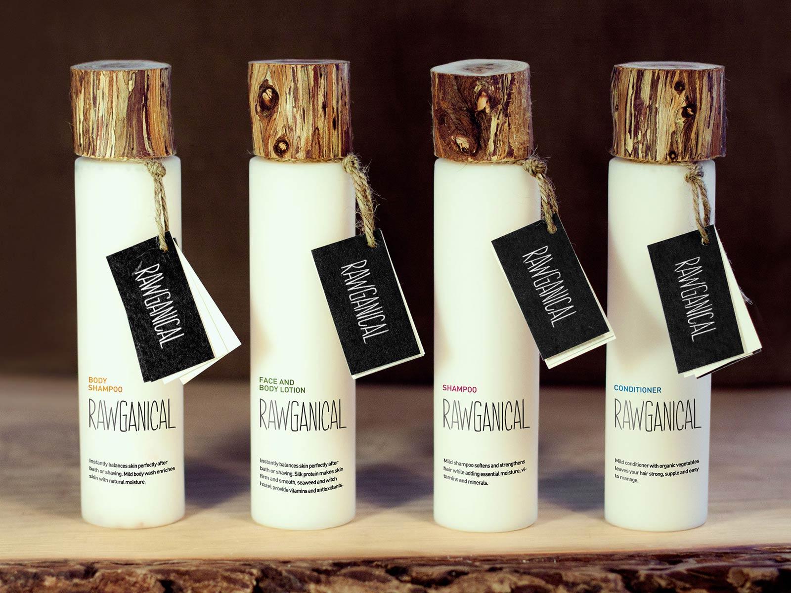 Rawganical packaging