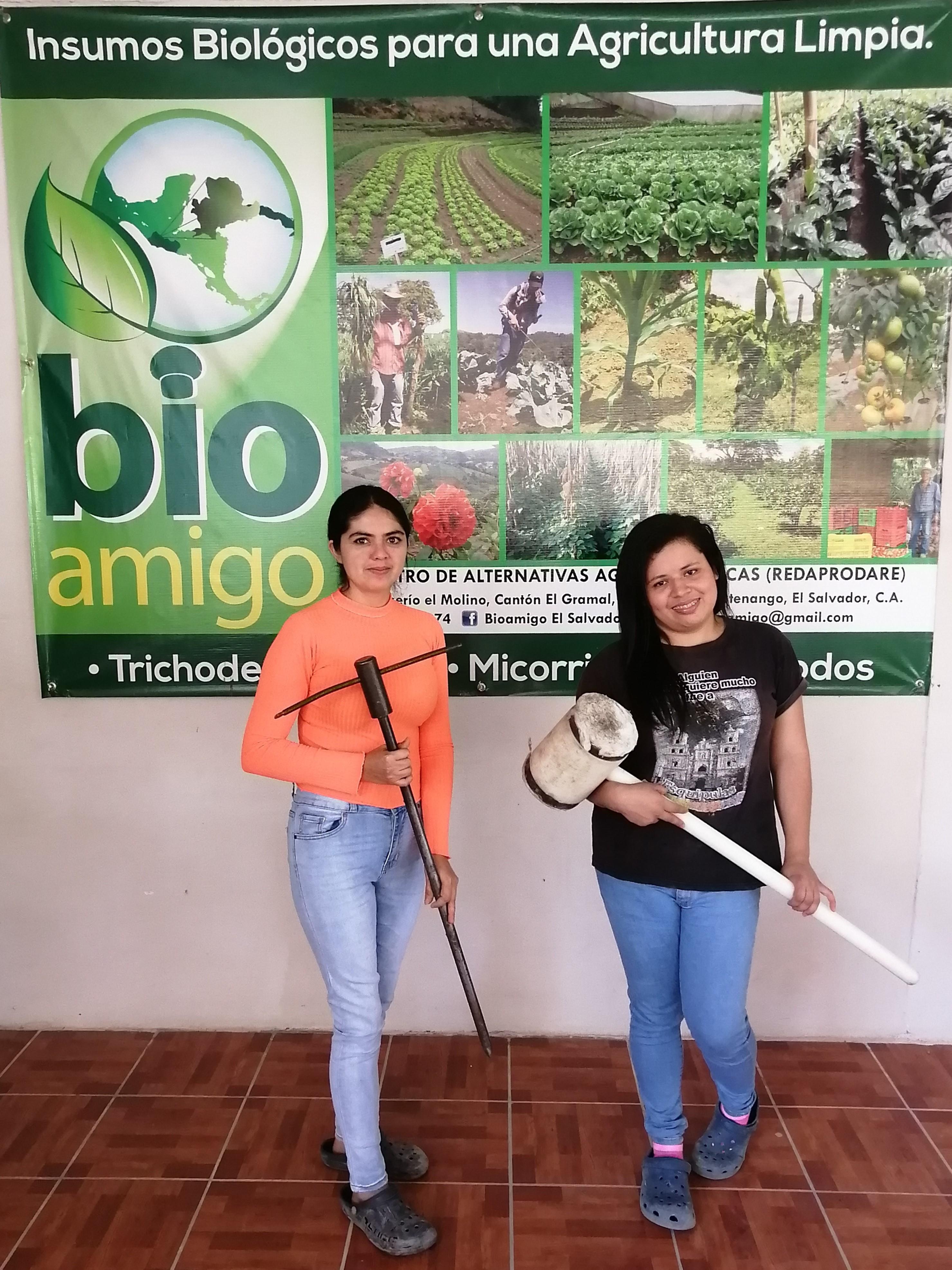 Praktische Unterstützung für agrarökologisches Projekt in El Salvador