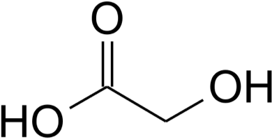 Glycolic Acid Chemical Formula