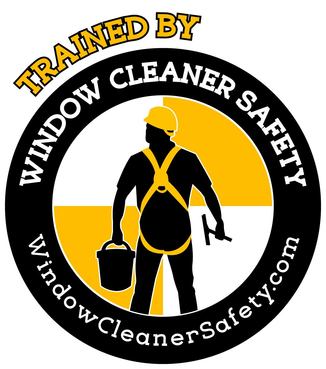 gabe's spotless window cleaning was trained by Window Cleaners Safety