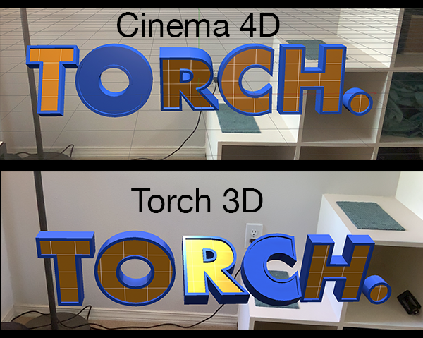 Prepare 3D Models for Augmented Reality Using Cinema 4D