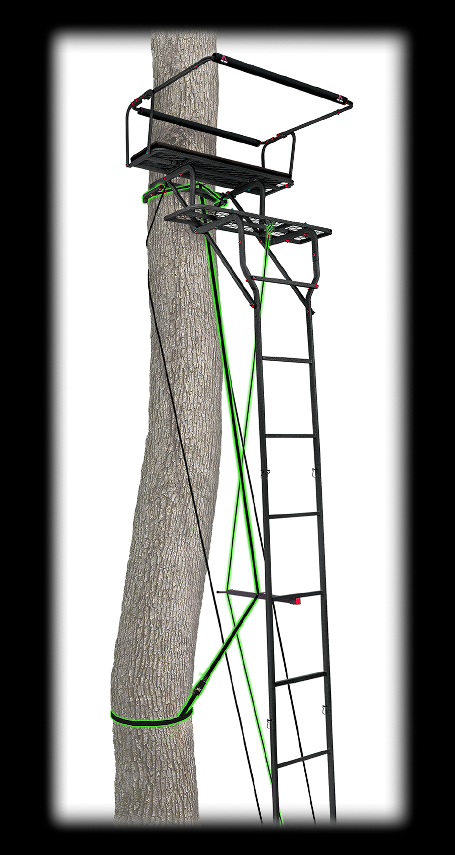 15' Deluxe Two-Man Ladderstand