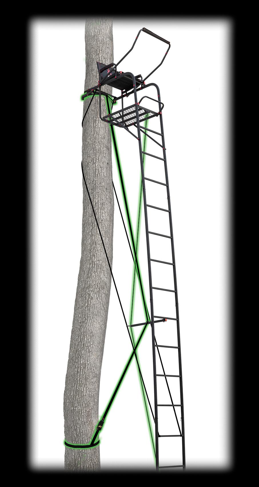 22' Deluxe Ladderstand