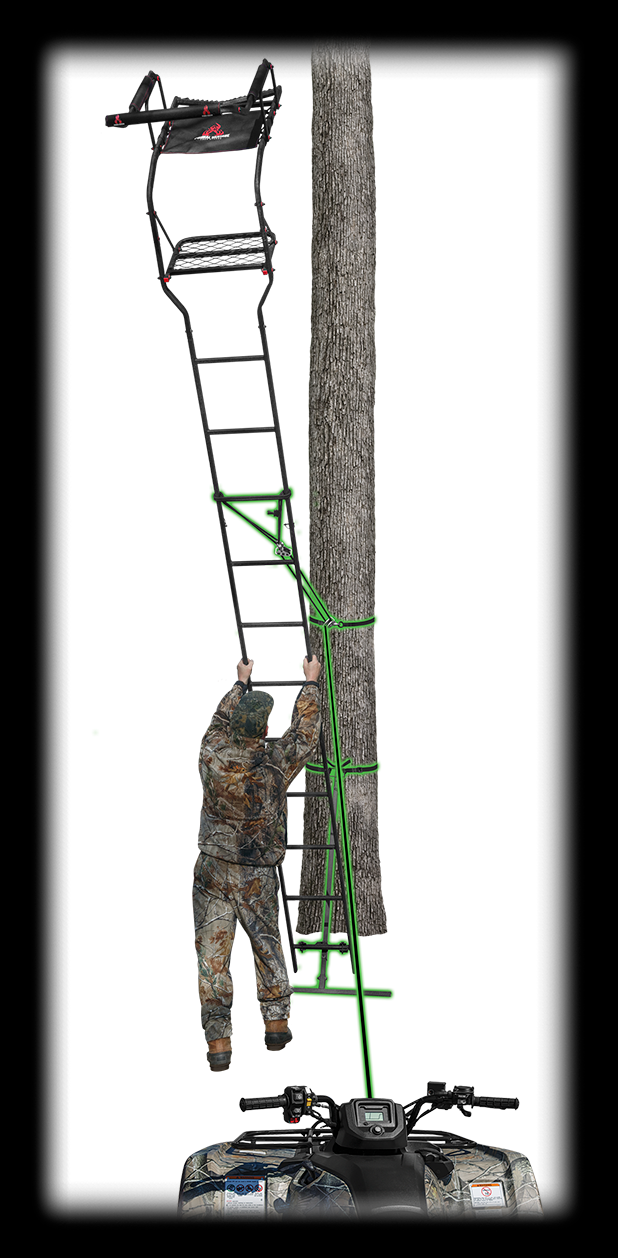 Ladder Stand Hoist