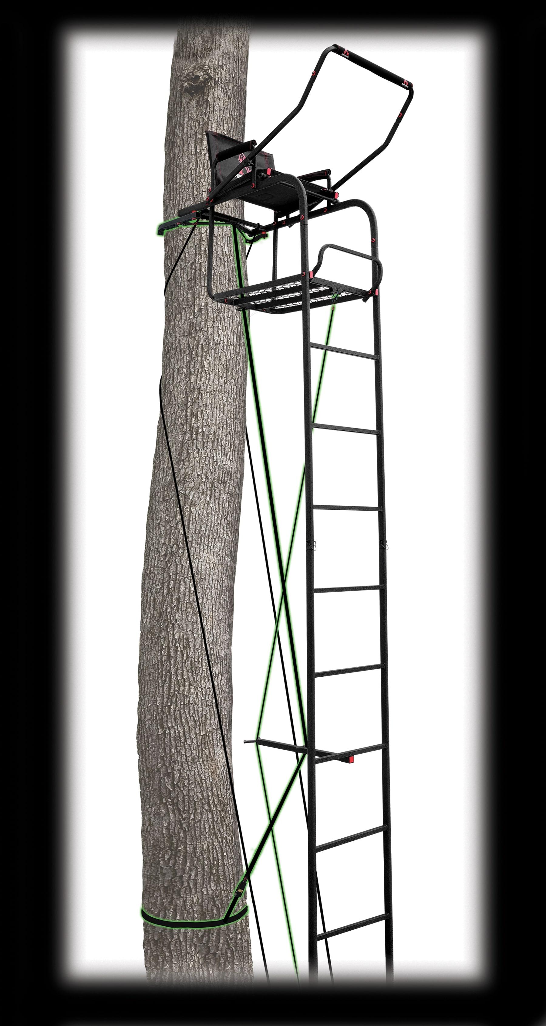 17' Deluxe Ladderstand