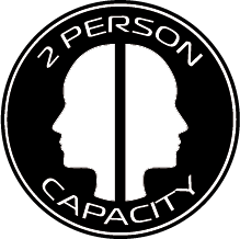 2 person capacity