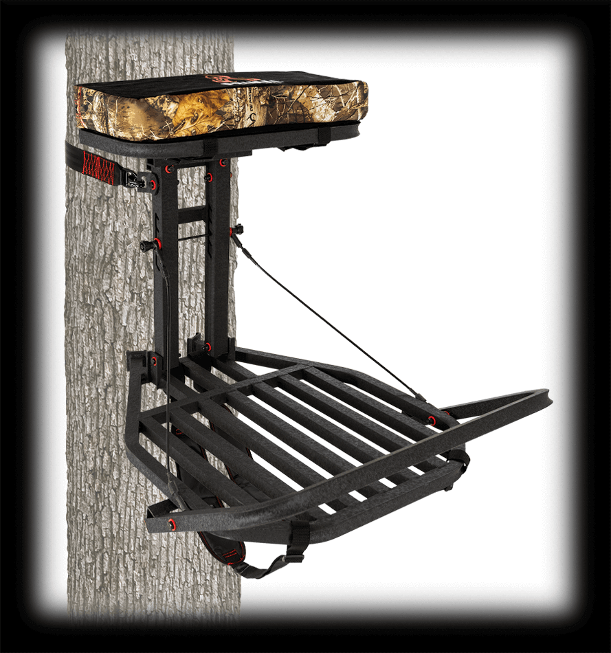 MODEL #PTHO-215 SKY SPY ALUMINUM HANG-ON STAND