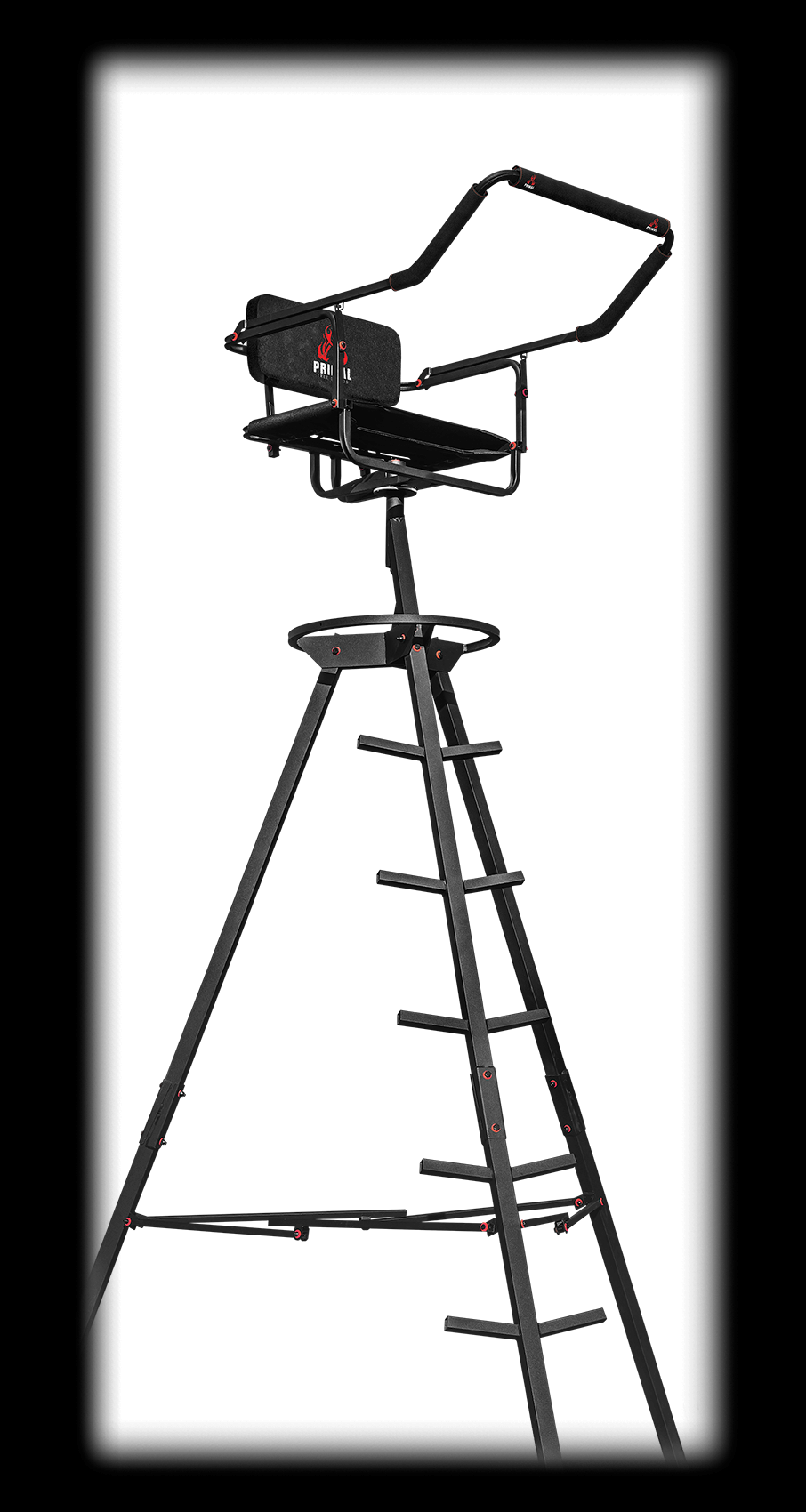 MODEL #PVTS-10P THE FLY POD - 10' PORTABLE TRIPOD