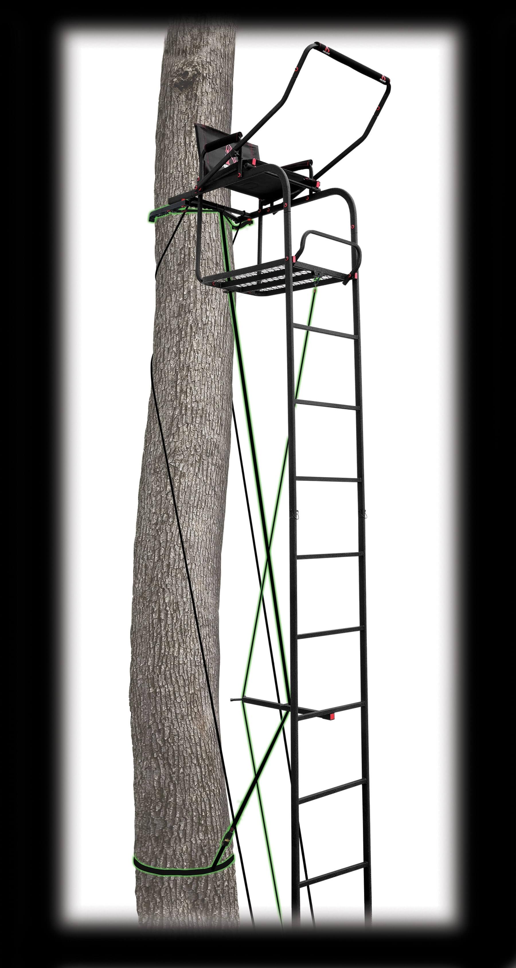 MODEL #PVLS-316 17' SINGLE VANTAGE DELUXE LADDERSTAND
