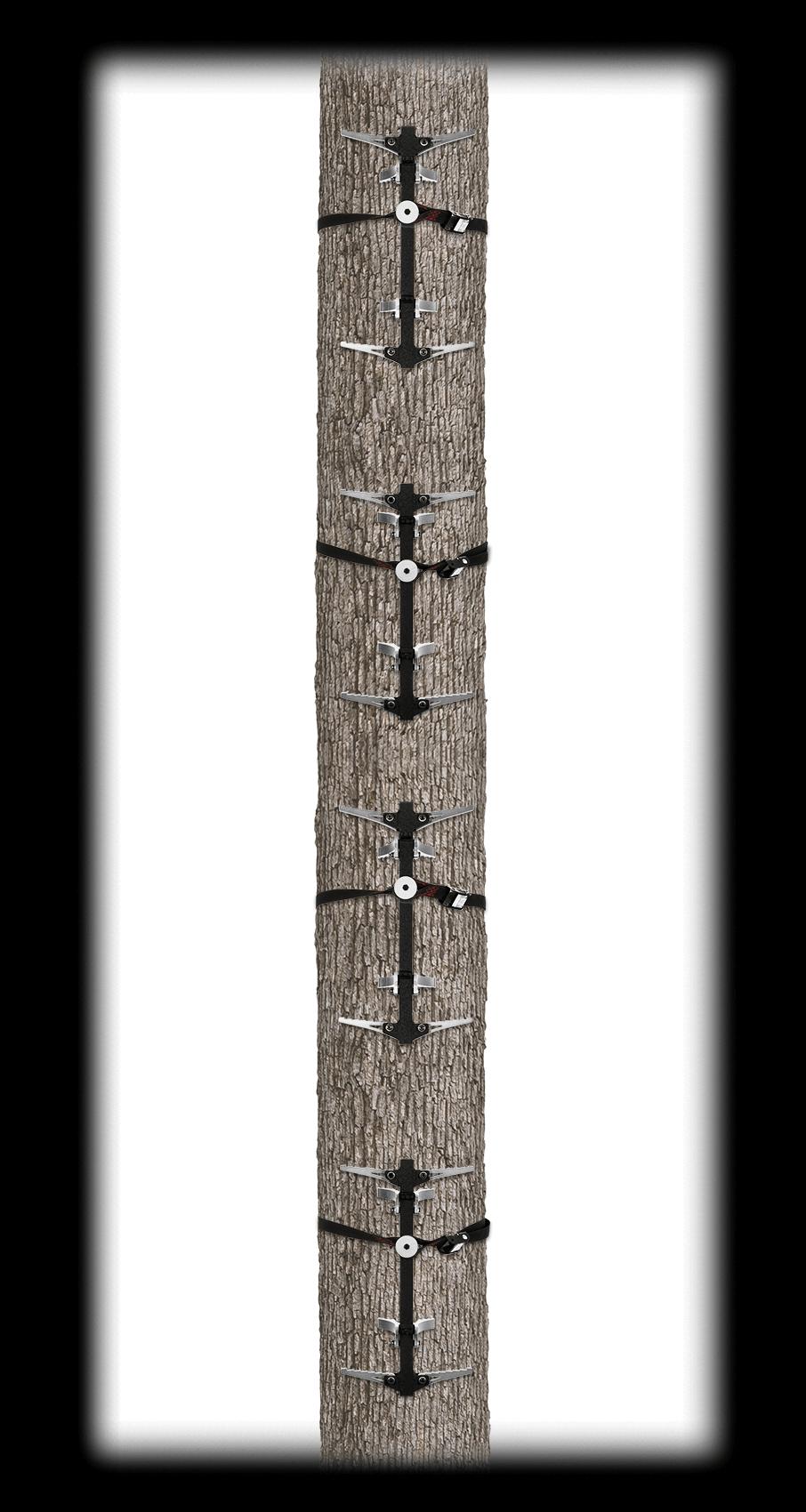MODEL #PTSL-135 ALUMINUM SNAP STIX 4PC