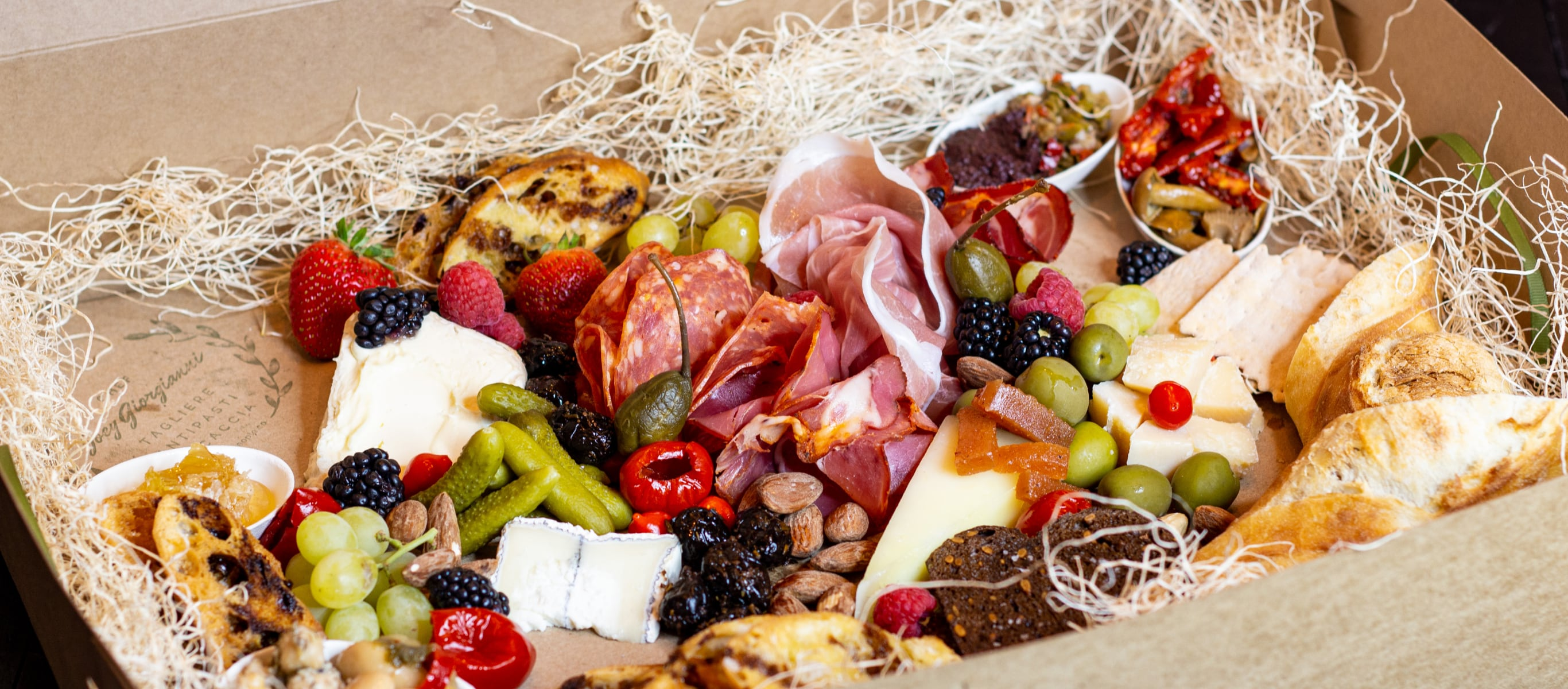 Holiday Charcuterie Boxes