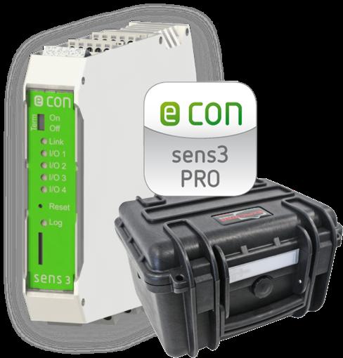 Energie Messkoffer: Econ Case sens3 PRO