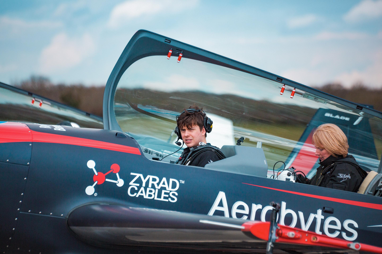 Red Bull Plane Open Cockpit