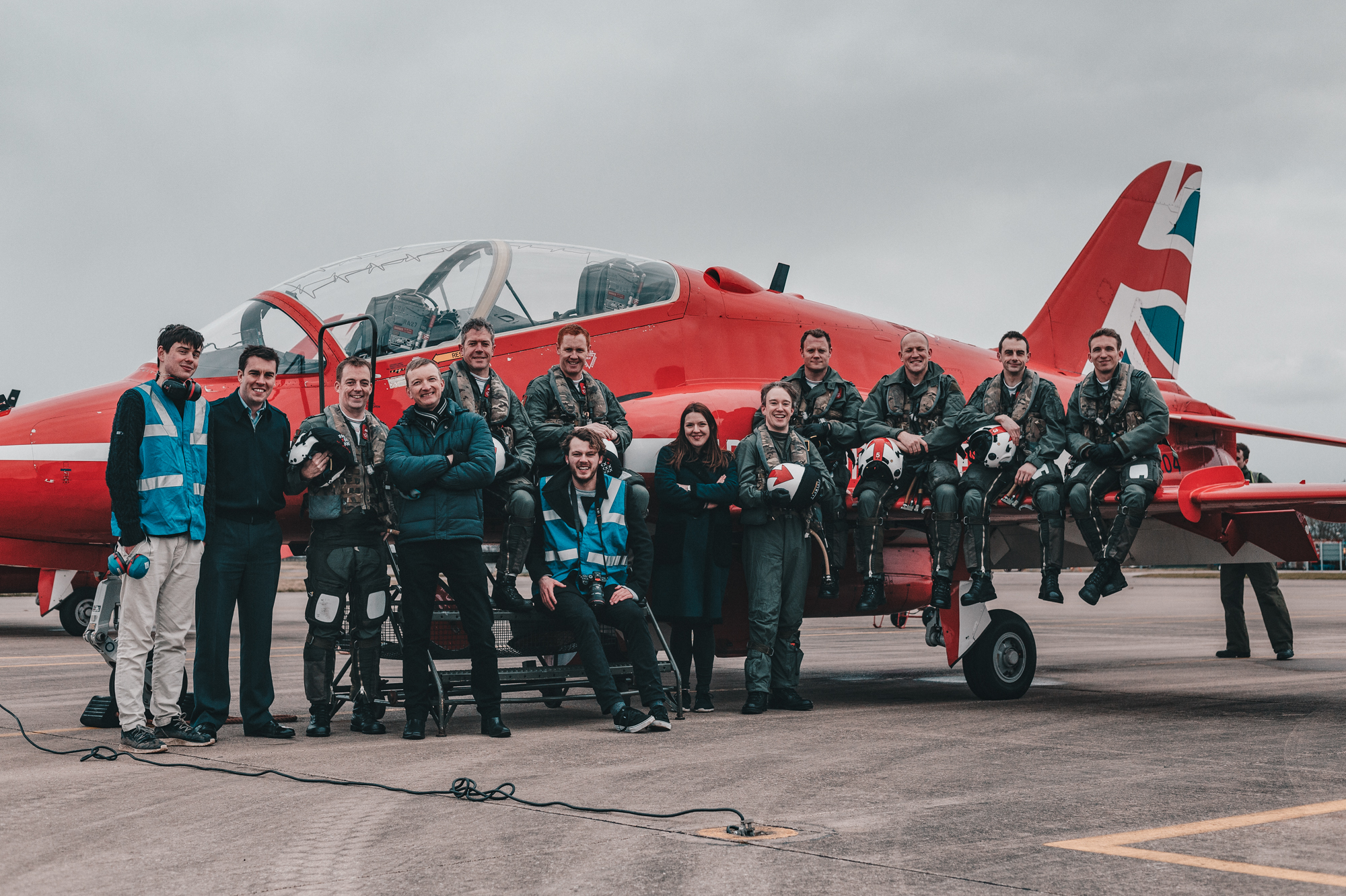 Royal Air Force x Red Arrows x Digital Voices