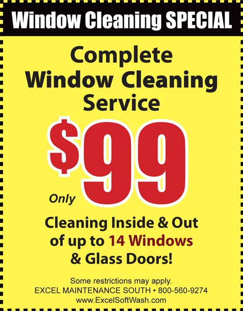 Window cleaning discounts for residents in Manhawkin, NJ