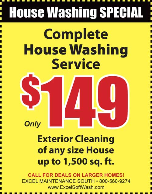 House Washing savings for residents in Manahawkin, NJ