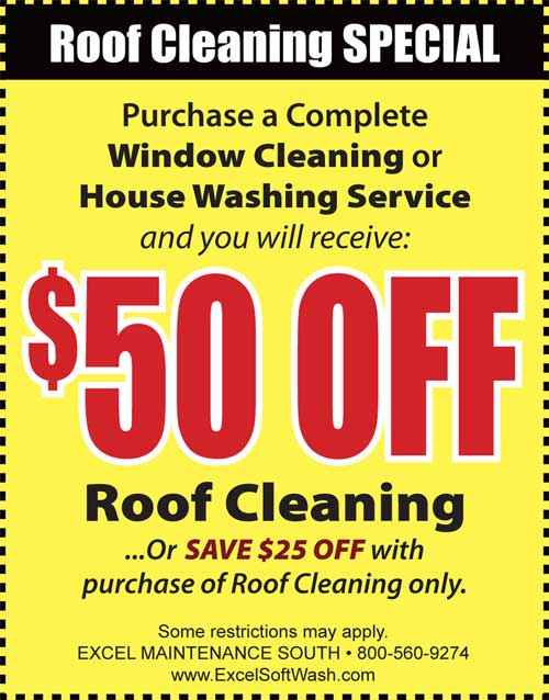 Residents in South Jersey save on their roof cleaning