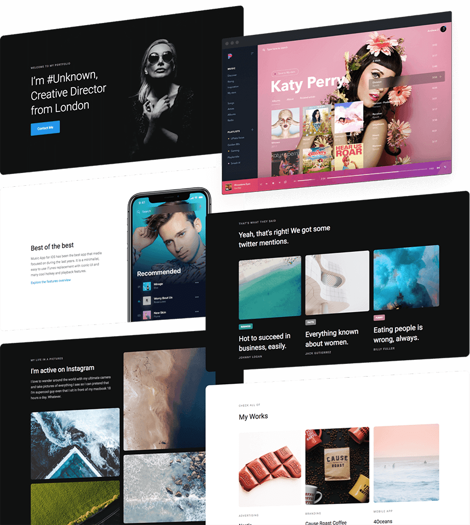 Cards 2 0 - Framework/UI Kit - Webflow
