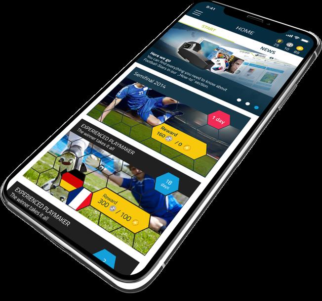 Football-Stars mobile app