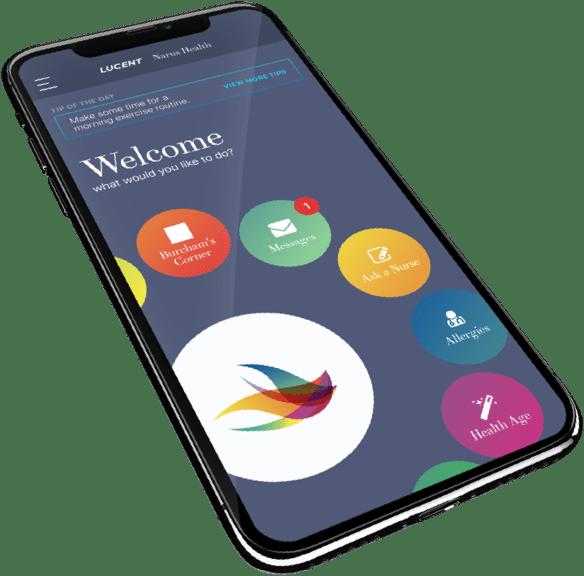 Narus Health mobile app