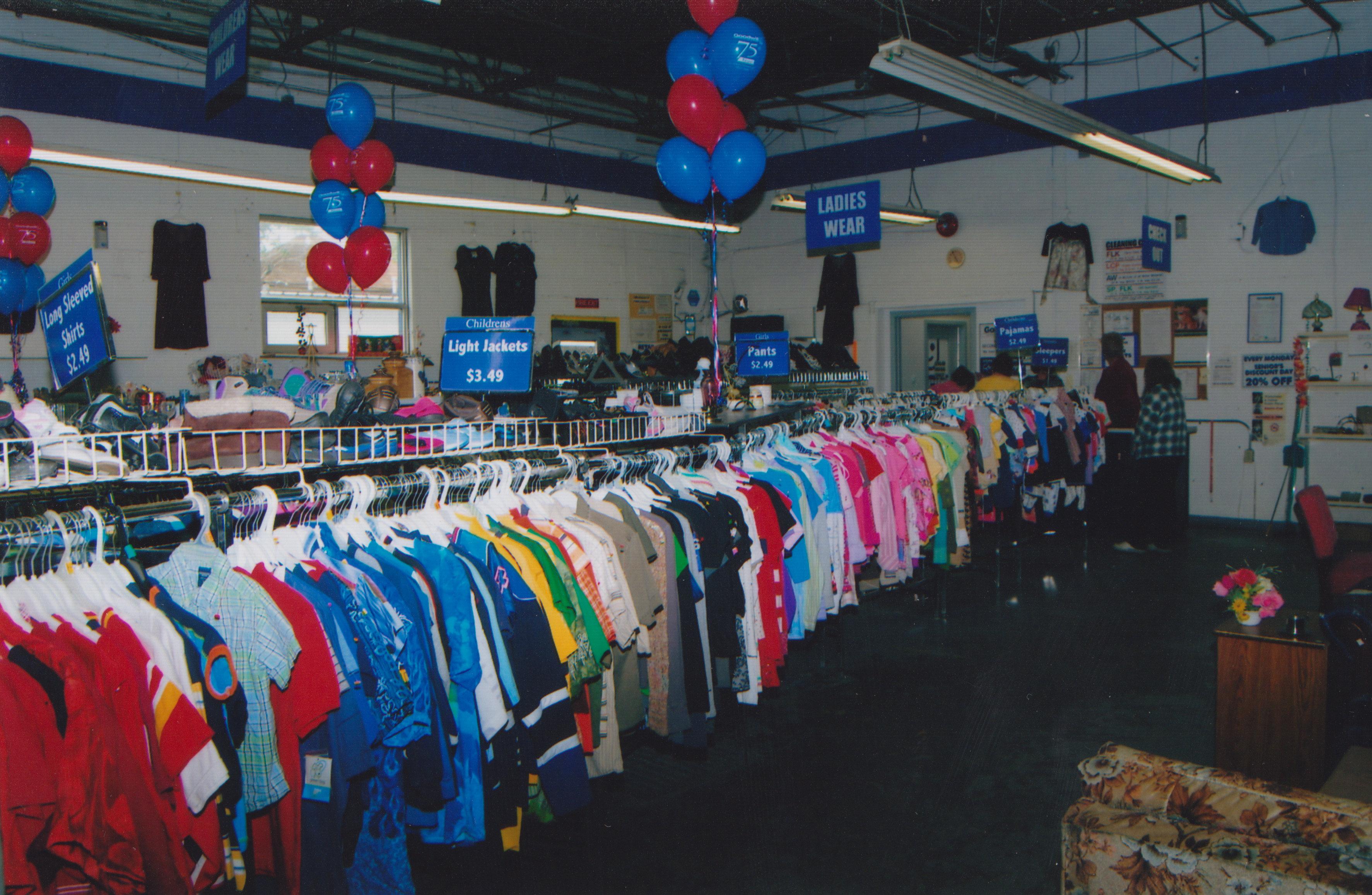 Goodwill EKL Store inside