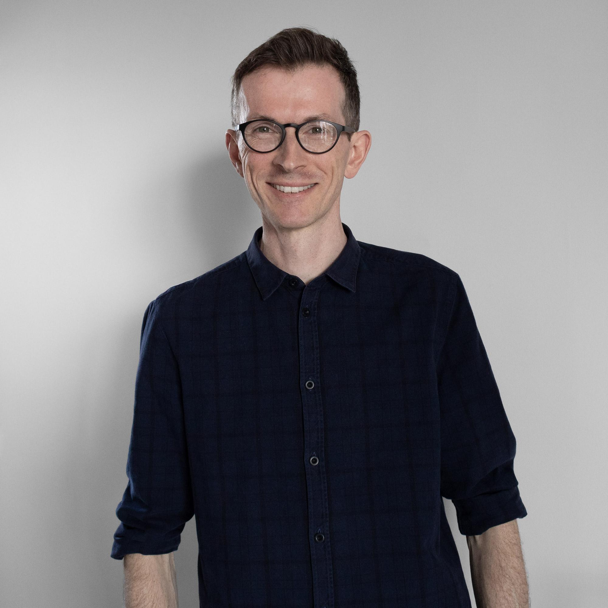 Portrait of interior designer Matt Ainsley
