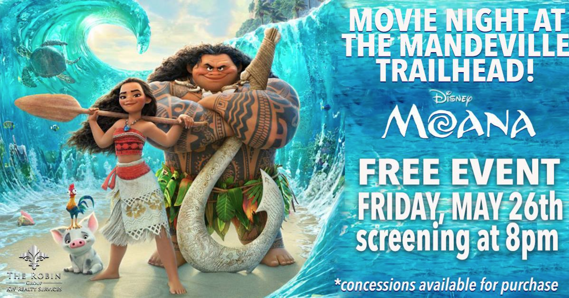 Moana Definitely Made Waves at the Mandeville Trailhead Last Weekend