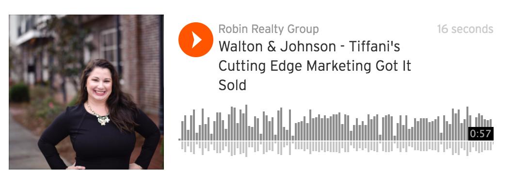 Walton & Johnson – Tiffani's Cutting Edge Marketing Produced 23 Showings, 3 Offers And Got It SOLD