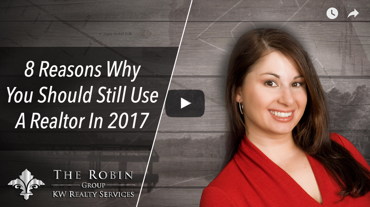 8 Reasons Why Use Should Still Use A Realtor In 2017