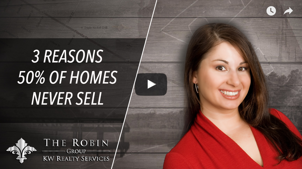 3 Reasons Why 50% of Homes NEVER Sell In ANY Market