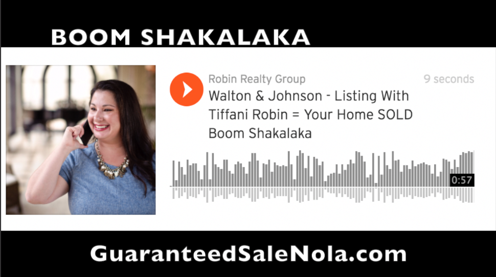 Listing With Tiffani = Your Home SOLD BOOM SHAKALAKA