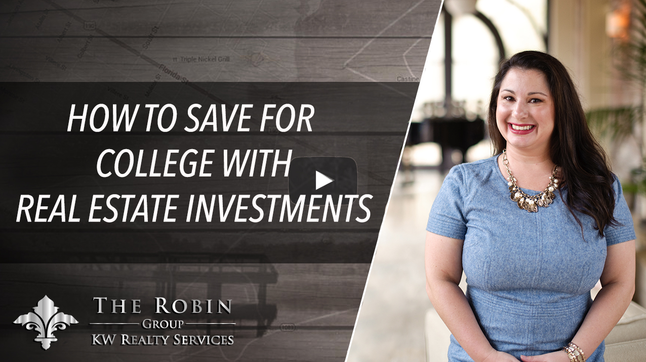 How To Save For College With Real Estate Investments