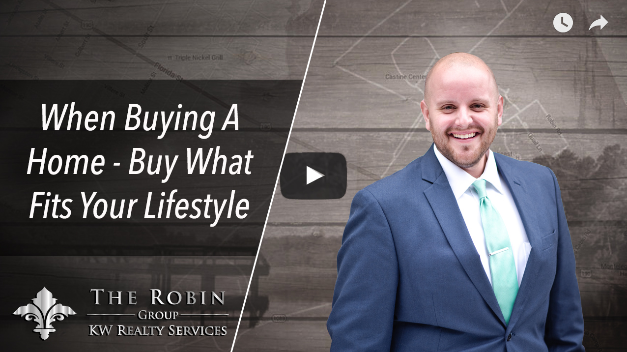 When Buying A Home, Buy What Fits Your Lifestyle